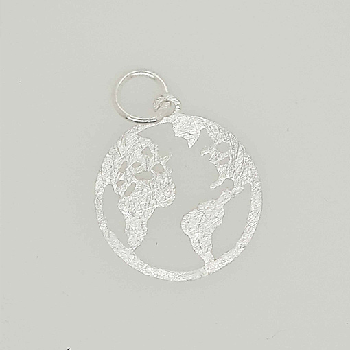 Anhänger Weltkarte