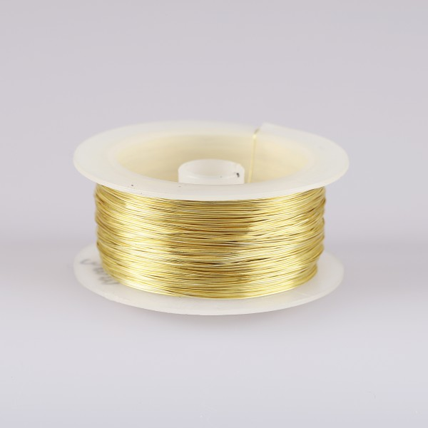 Silver Wire Spool
