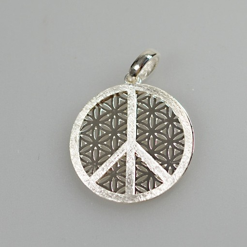 Flower of Life with Peace Pendant