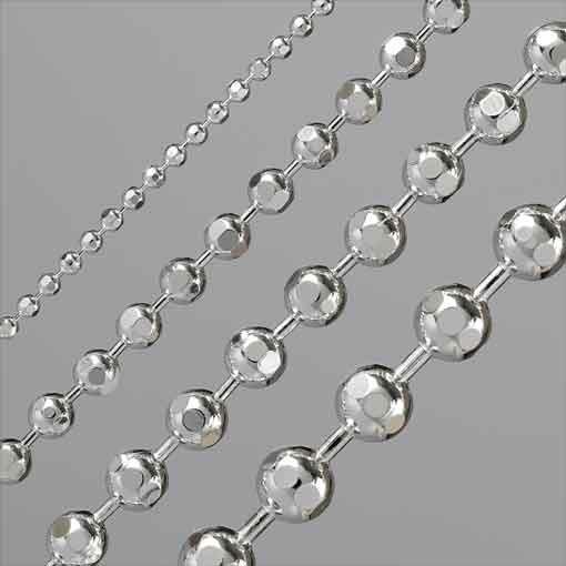 Kugelkette diamantiert