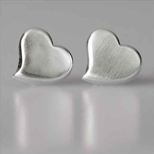 Stud Earrings Heart