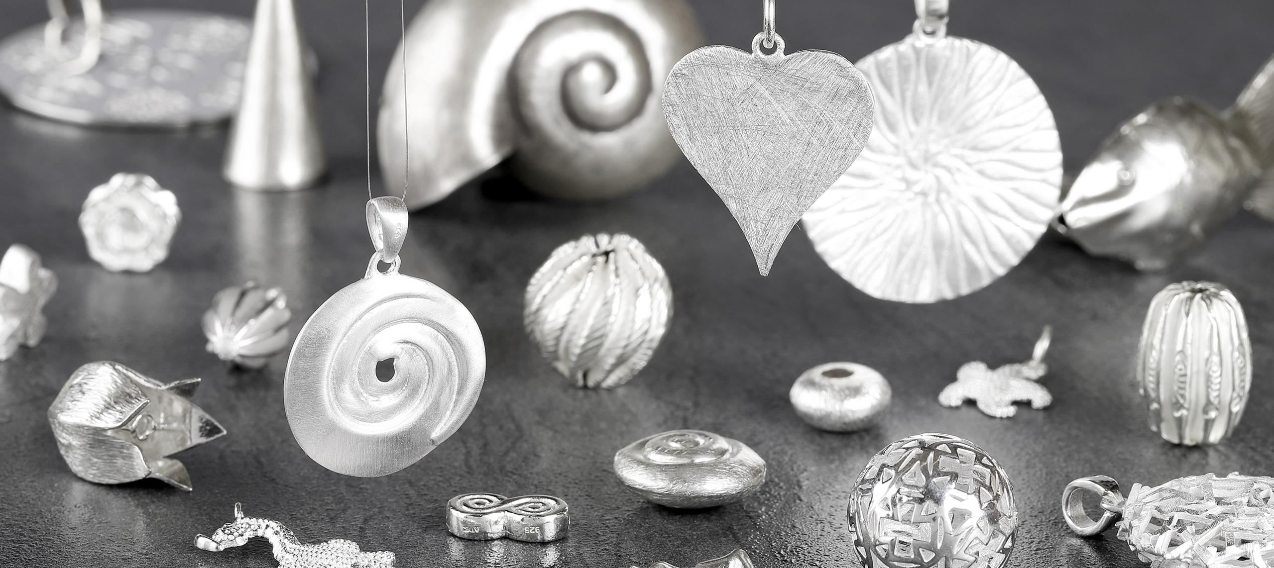 Silberelemente | Silber für Schmuck