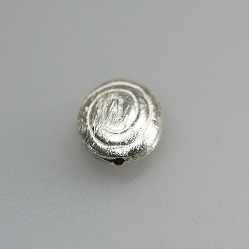 Oval with Spiral Pattern
