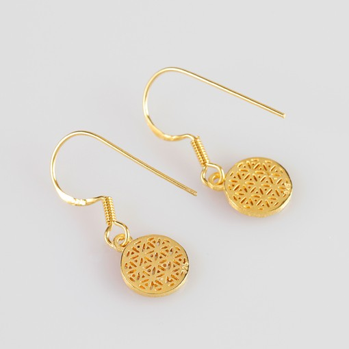 Fower of Life Earrings