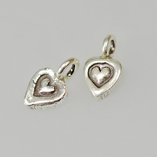 Heart with Heart Charm