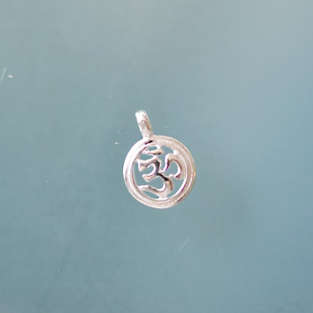 Round Charm with Om