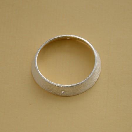 Ring, gebürstet