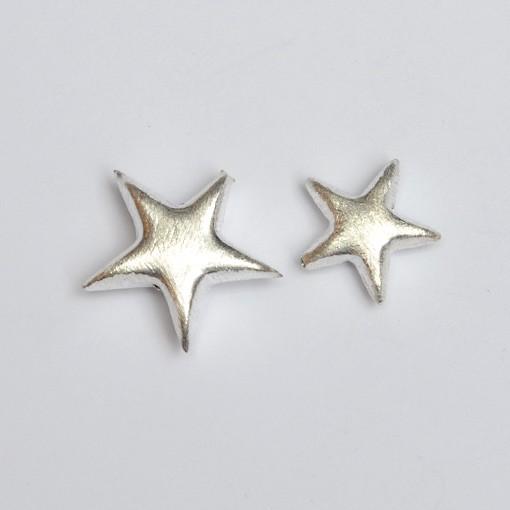 Stern, gebürstet