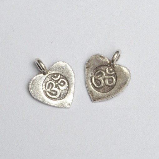 Heart with Om Charm