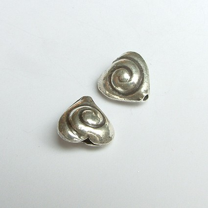 Heart with Spiral Pattern